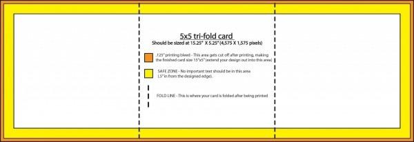 001 Tri Fold Invitation Templates Template Ideas Folding Info