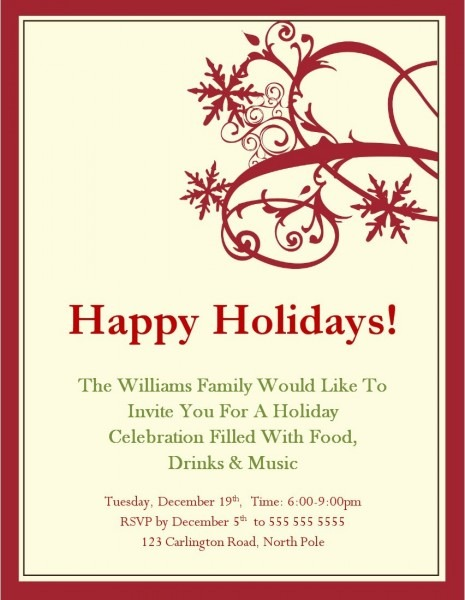 002 Party Invite Template Word Ideas Beautiful Free Holiday