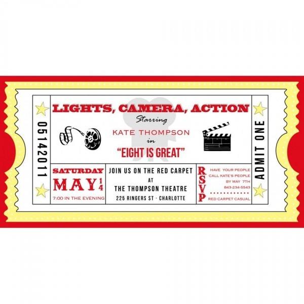 028 Template Ideas Movie Ticket Invitation Free Admission Download