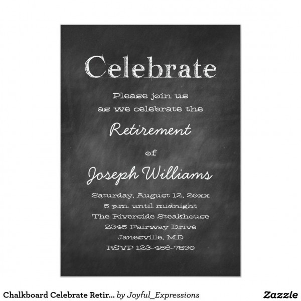 003 Template Ideas Free Retirement Invitation ~ Ulyssesroom