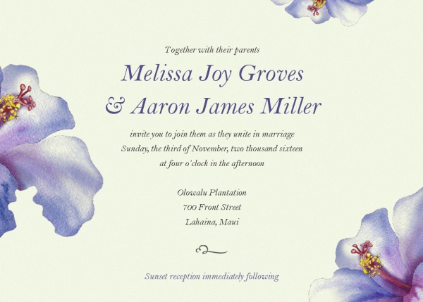 005 Template Ideas View Larger Email Wedding Invitations Templates