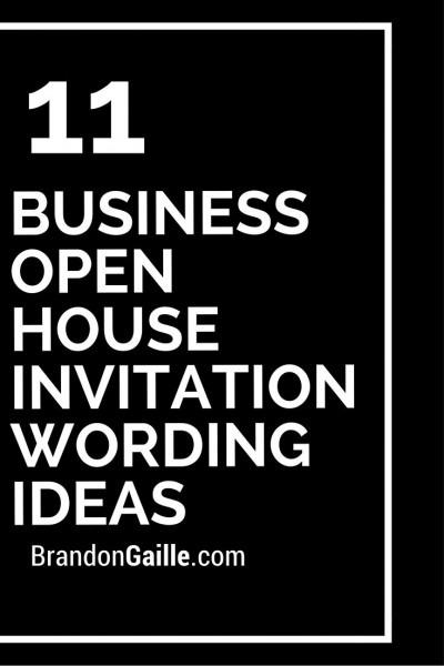 Holiday Open House Invitation Wording Ideas