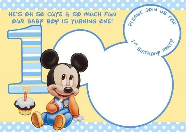 008 Mickey Mouse Invitations Template ~ Ulyssesroom