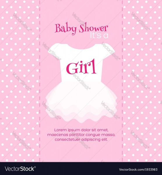 009 Baby Shower Invitation Template Vector Invite ~ Ulyssesroom