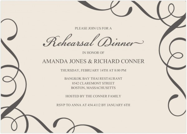 011 Wedding Invitation Word Templates Free Download Template