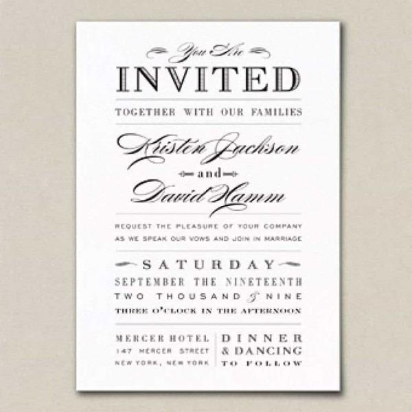 Nice Tips Easy To Create Wedding Invitation Wording Couple Hosting
