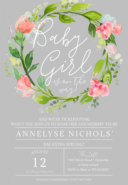 Baby Shower Invitation Wording To Welcome The Wee One Into The
