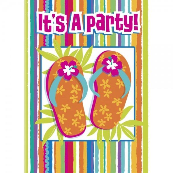 Flip Flop Fun Invitations