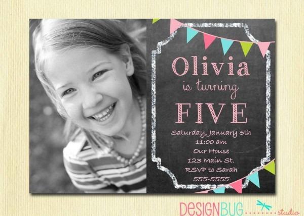 Birthday Girl Invitation