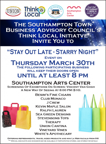 Dan's Media Partner Invitation  Stay Out Late In Southampton This