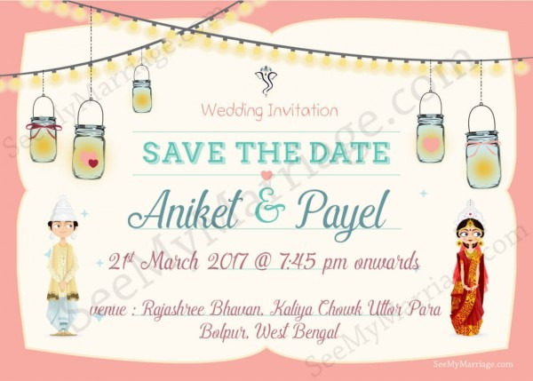 Bride Of Bengal – A Cute Bengali Couple Theme Traditional Wedding
