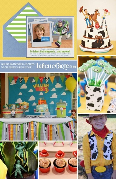 Toy Story Party  Online Invitations & Ideas