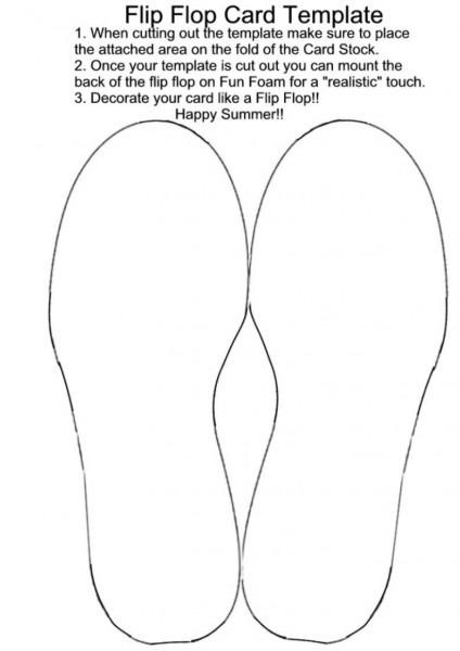 Free Flip Flop Wedding Invitation Templates