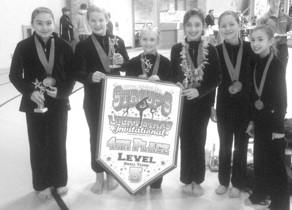 Greater Buffalo Level 5 Girls Place Fourth At Lucky Stars