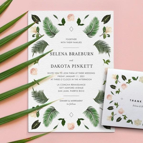 15  Off Printable Presses Uniquely Whimsical Wedding Invites!