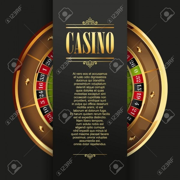 Casino Poster Background Or Flyer  Casino Invitation Or Banner