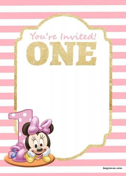 Download Now Free Printable Disney Princess 1st Birthday