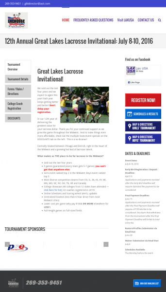 Great Lakes Lacrosse Invitational