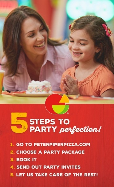 At Peter Piper Pizza, We Handle The Planning, Decorations, And