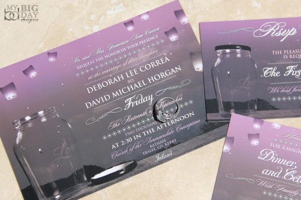 Amazon Com  Whimsical Skies Paper Lantern Wedding Invitation
