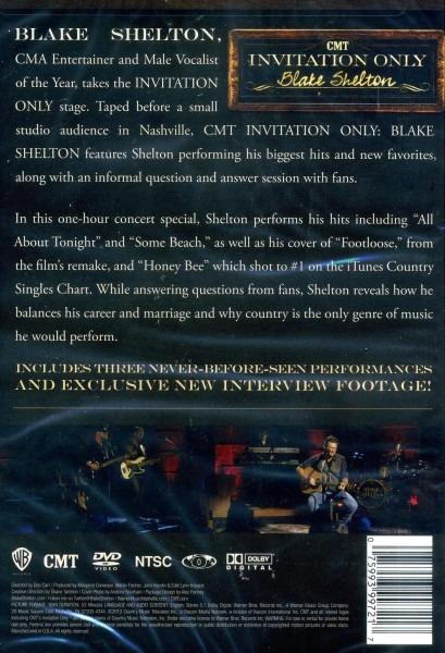 Amazon Com  Cmt Invitation Only  Blake Shelton  Movies & Tv