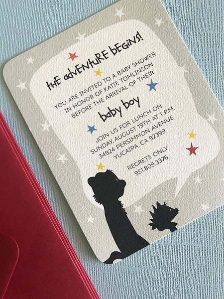 Amazon Com  Calvin And Hobbes Party Invitation, Set Of 12, Baby