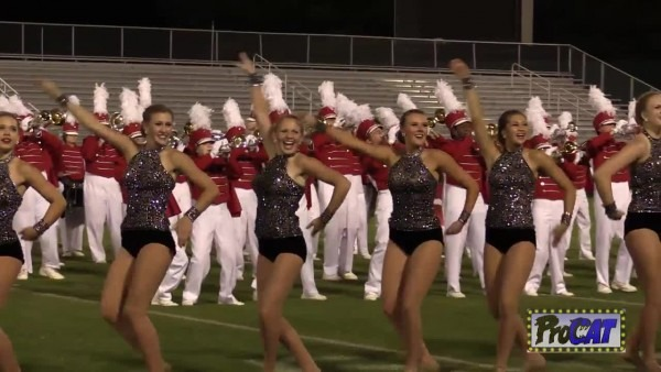 Hewitt Trussville High Band At 2014 Hoover Invitational Mbf In