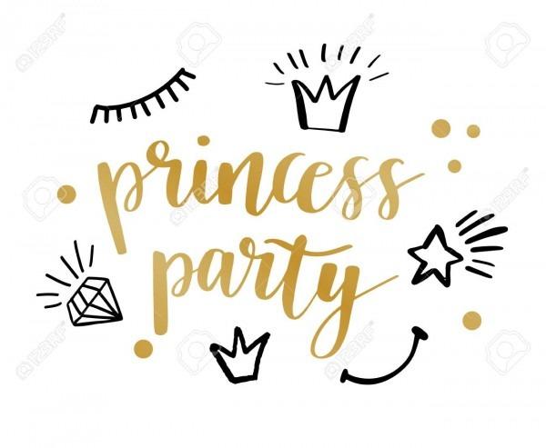 Princess Party Bridal Shower Birthday Invitation Card Design