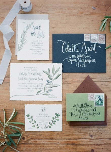 Organic Dinner Party Wedding Inspiration