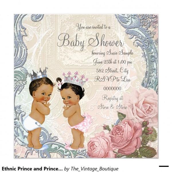 Ghetto Baby Shower Invitation