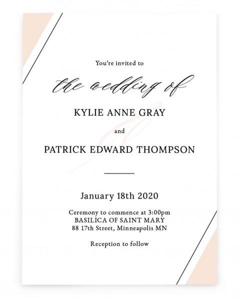 Affordable Beach Wedding Invitations Diy Davids Bridal Ball Design