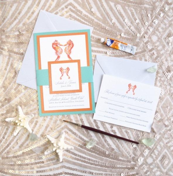 Affordable Wedding Invitations Beach Davids Bridal Ball Themed