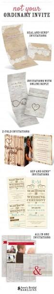 15 Unique Affordable Wedding Invitations Chicago Image