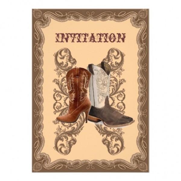 Wedding Invitation Ideas  Fall Country Wedding Invitations Matched