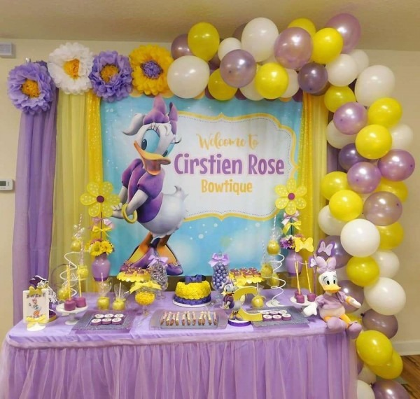 Daisy Duck Birthday Party Ideas In 2019