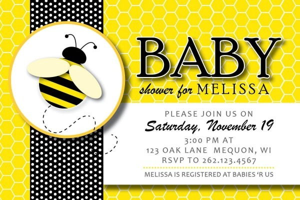 Baby Shower  Baby Shower Bee Theme  Bee Themed Baby Shower And Its