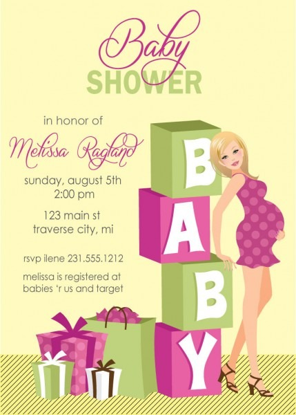 Baby Shower E Invitations And The Invitations Of The Baby Shower