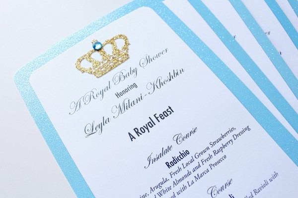 Baby Shower  Royal Themed Baby Shower Invitations  Baby Shower