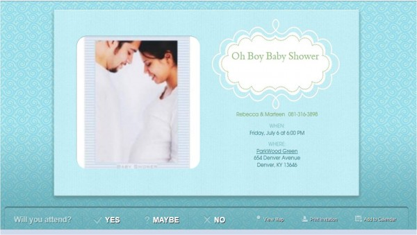 Baby Shower Online Invitations Baby Shower Online Invitations As