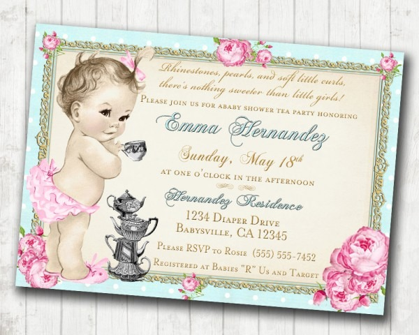Baby Shower  Tea Party Baby Shower  Eat Grace Pink And Grey Tea