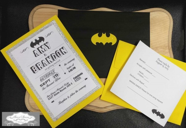 Batman Themed Wedding Invitations Unique 15 Inspirational Ic