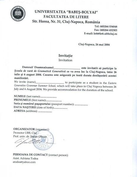 Sample Invitation Letter For Spouse Visa Uk