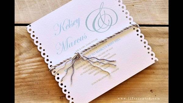 Best Where To Make Wedding Invitations Easy Simple Diy Wedding