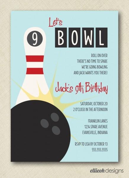 Bowling Invites