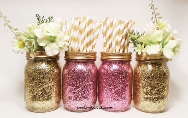 Baby Shower  Mason Jars Baby Shower  Bridal Shower Decorations
