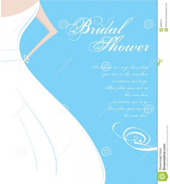 Bridal Shower Invitation Stock Vector  Illustration Of Elegance