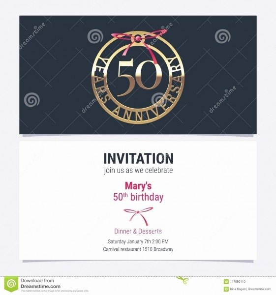 50 Best Of Business Anniversary Invitation Cards