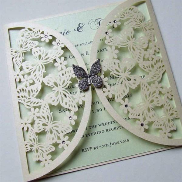 Wedding Ideas  Butterfly Wedding Invitations