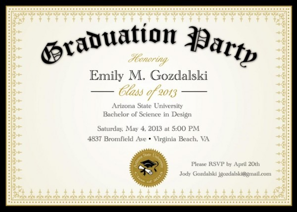Buy Grad Invitations Etsy Walgreens Party Invite Examples