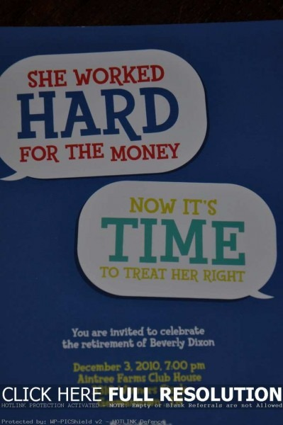 Clever Party Invitation Wording